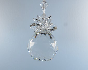 ON SALE! 2A-66 Large 40mm Pineapple Crystal Prism Ball Sun Catcher
