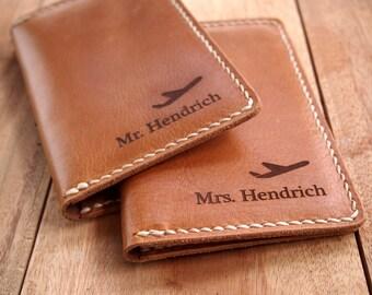10% OFF Handmade Leather Passport Case / Travel Passport Case