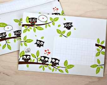 10 OWL envelopes DIN C6