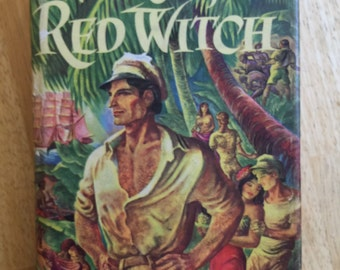 WAKE of the RED WITCH by Garland Roark, published in 1948. South Seas adventure and romance, and a search for sunken treasure.