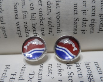 Game of thrones Tully house earrings