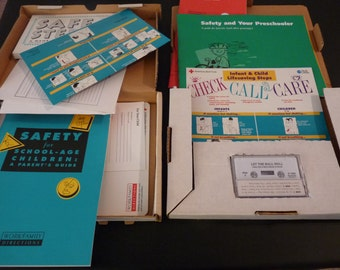 Children's Safety Games and Books Lot