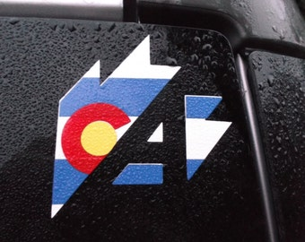 Colorado Vinyl Decal #1
