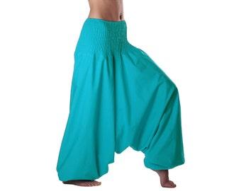 Fairtrade - cotton Alibaba-pants - cotton harem pants