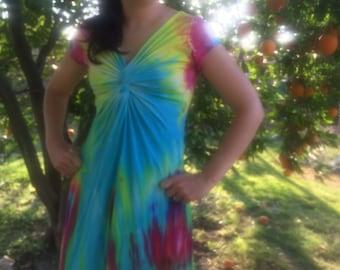 Twisted tee dress. Junior size medium
