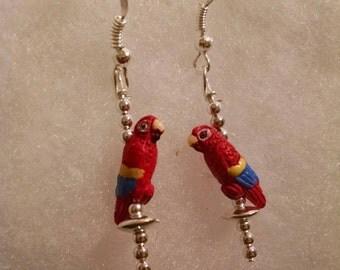 Tiny Parrot Earrings Item No. 99
