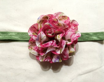 Adult Sized Flower Headband 18 inches