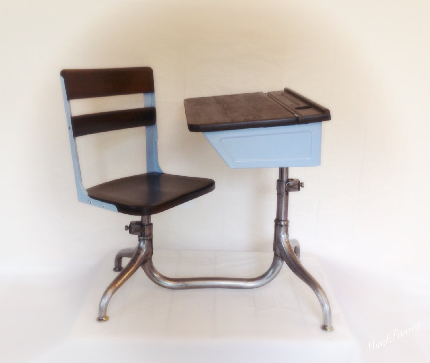 vintage school desk children s desk chair combo