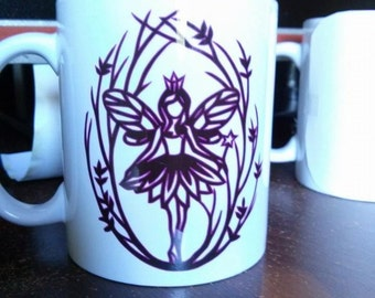Purple Fairy Mug