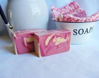 Passionate Kisses Cold Process Soap