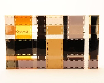 "Carter Potter 1994 ""Untitled"" Various Film Strips""Beautiful 8x14"" Art Work"