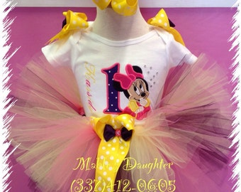 Baby Minnie Mouse Tutu Set