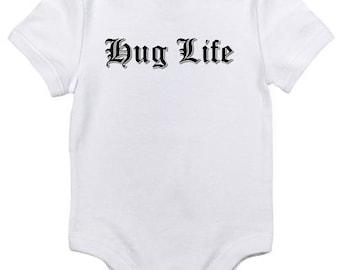 Hug Life Baby Onesie Bodysuit Thug Life shower gift