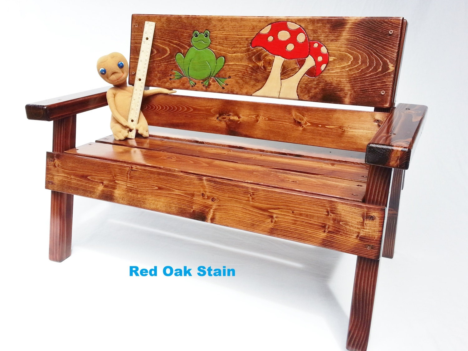 Toddler Garden Bench Kids Outdoor Furniture Reclaimed Wood