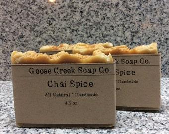 Chai Spice Soap