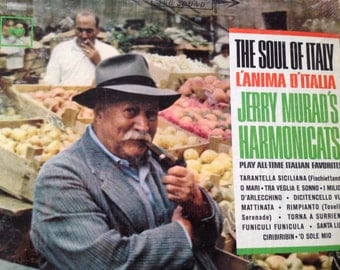 The Soul of Italy - L'Anima D'Italia - Jerry Murad's Harmonicats - vinyl record