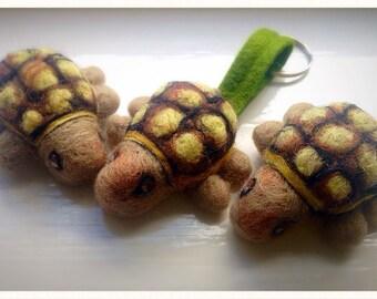 Needle Felt tortoise / turtle