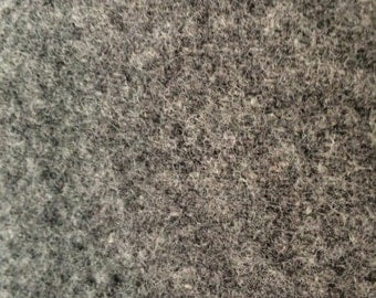 Vintage Thick Gray Wool Material - Amana Woolen Mill