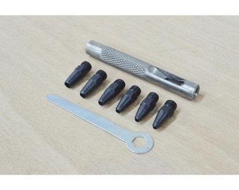 Mini Hole Punch Set Leathercraft Tool - 13170