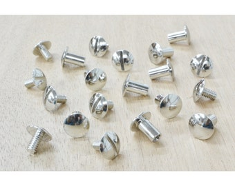 Chicago Screw Post 10 pack CHOOSE SIZE and FINISH!