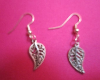 Sterlijng Silver Paisley Earrings