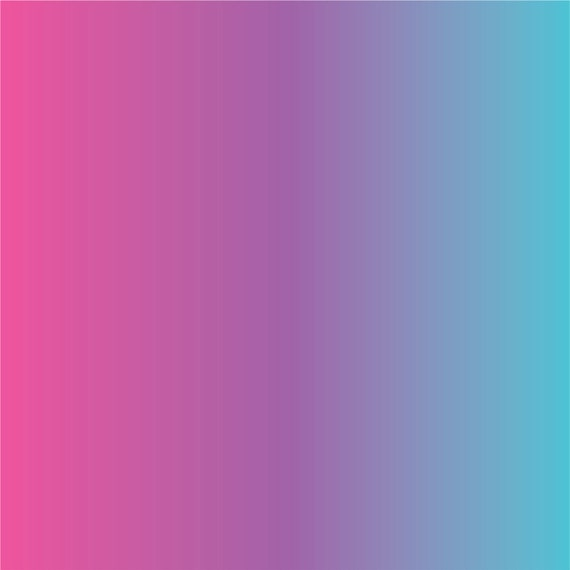 Purple Pink And Aqua Ombre Adhesive Vinyl By