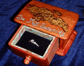 Firefly Serenity Ring Box - Be My Serenity