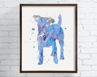 Watercolor Jack Russell, Jack Russell Art, Jack Russell Print, Jack Russell Painting, Jack Russell Terrier, Dog Wall Art, Dog Lover Gift