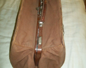 1930s French Travel bag