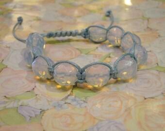 Shamballa bracelet with Moonstone