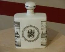 Vintage Altenkunstadt Dusseldorff Porcelain Corked German Decanter