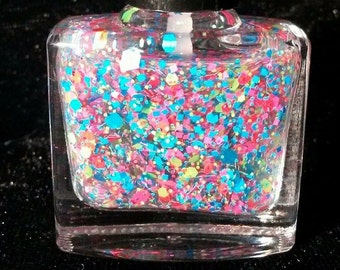 Violet Rose 'Pool Party' 10ml handmade nail polish