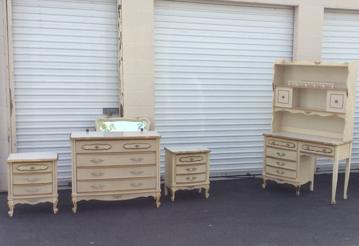 For Abigail: BEDROOM SET Sears Bonnet By ProvincialButFrench