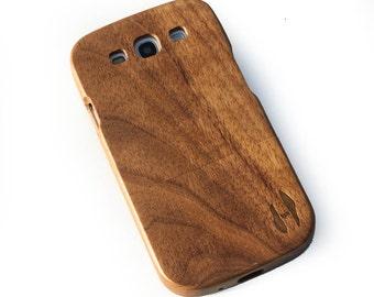Wood case, Samsung Galaxy S3 - dark walnut