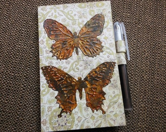 """3 x 5"""" Paper Pad Butterfly Folder/Holder for your Purse or Pocket"""