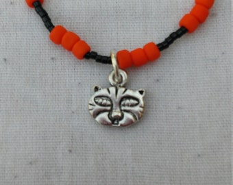 Erie Tiger 18-inch Charm Necklace