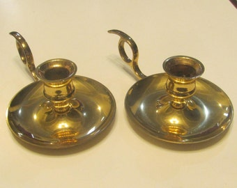 Brass Candlestick Candle Holders