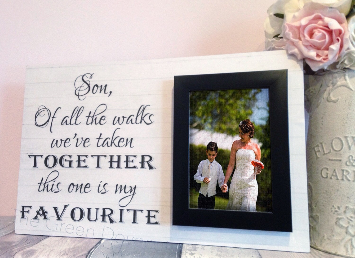 son wedidng gift wedding gift for son thank you gift for