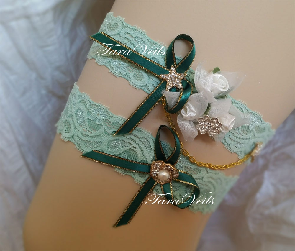 Wedding / Bridal / Rhinestone Garter/ Wedding Garters / Bridal