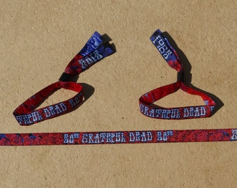 The Grateful Dead 50th Anniversery Commemrative Wristbands