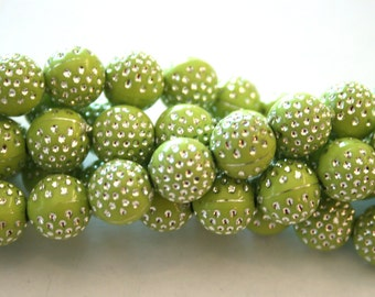 Acrylic Round Beads for Making Jewelry,1 strands,10mm,Dollar beads,Kids Beads,Yellow,white,purple,green acrylic beads