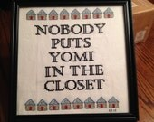Custom Quote Cross-Stitch