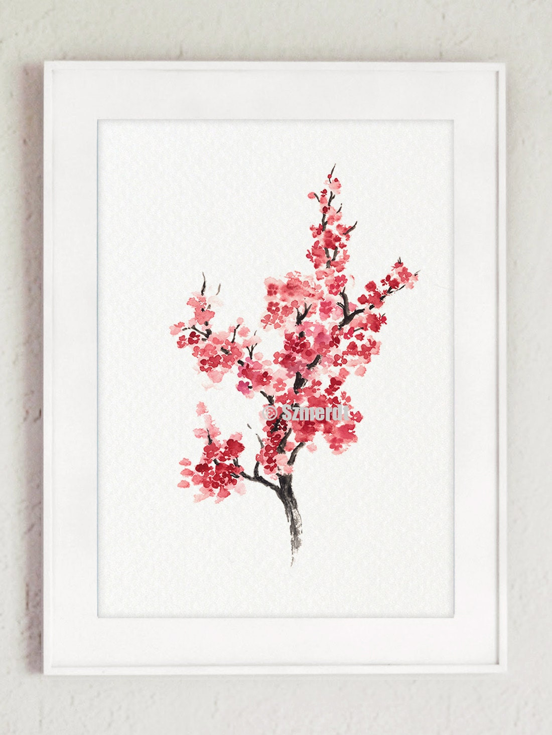Https Www Etsy Com Listing 240508672 Cherry Blossom Tree Sakura Home Decor