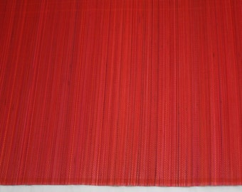"""Red Bamboo Table Runner 13"""" x 72"""" Home & Kitchen, Home Decor, elegant looking, Table runner, modern look (BAR01-11)"""