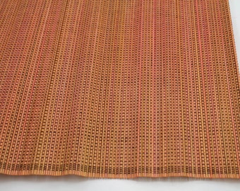 """Orange Bamboo Place Mat 13"""" x 19"""" set of 4 Home & Kitchen, Home Decor, elegant looking, place setting, modern look,  (BAP0x-xx)"""