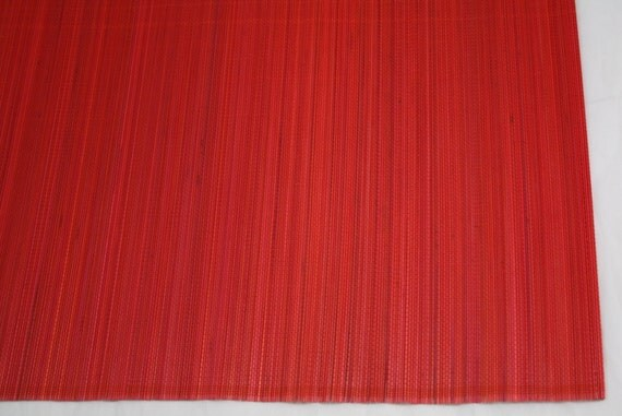Red bamboo table runner 13 quot x 72 quot home amp kitchen home decor elegant