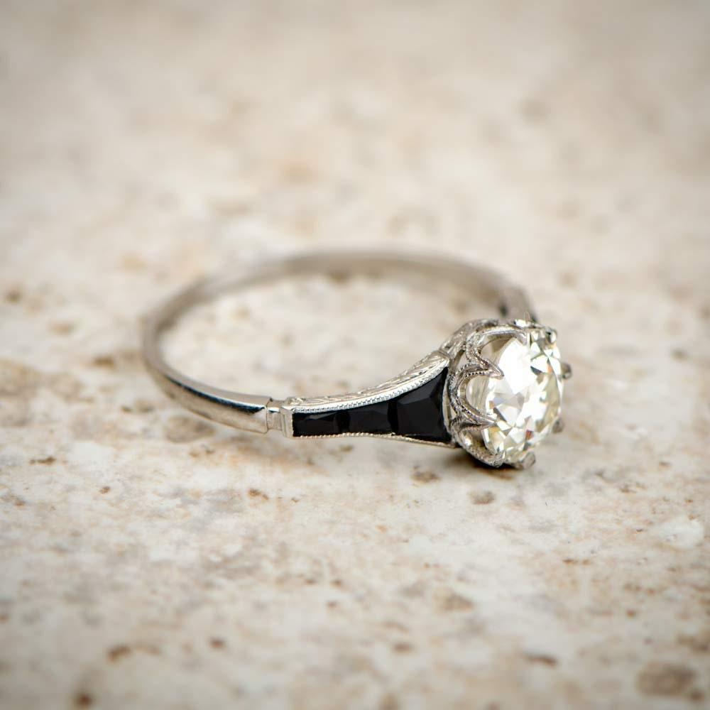 84 onyx wedding ring sets deco style onyx