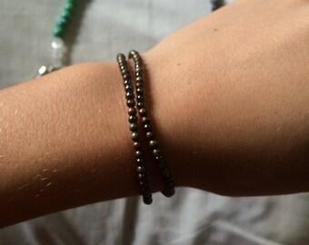 Beaded Wrap Bracelet / Stackable