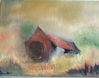 old hobbit barn.. 12x16..