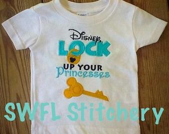 Disney, Lock up your Princesses Shirt